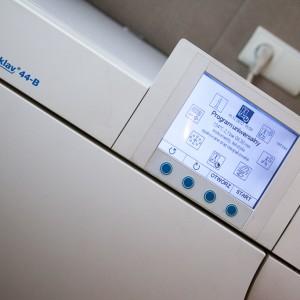 program uniwersalny do sterylizacji narzędzi w sterlizatorze Vacuklav 44B z