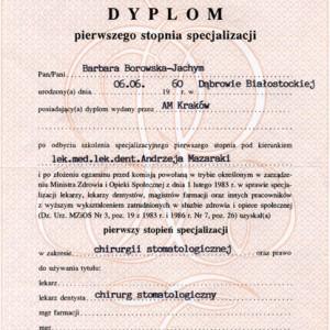 bjb cert009 middle 300x300 - Dr Barbara Borowska-Jachym