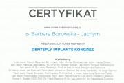 dentsply war 1 180x120 - Krakowski dentysta: lek. dent. Barbara Borowska-Jachym