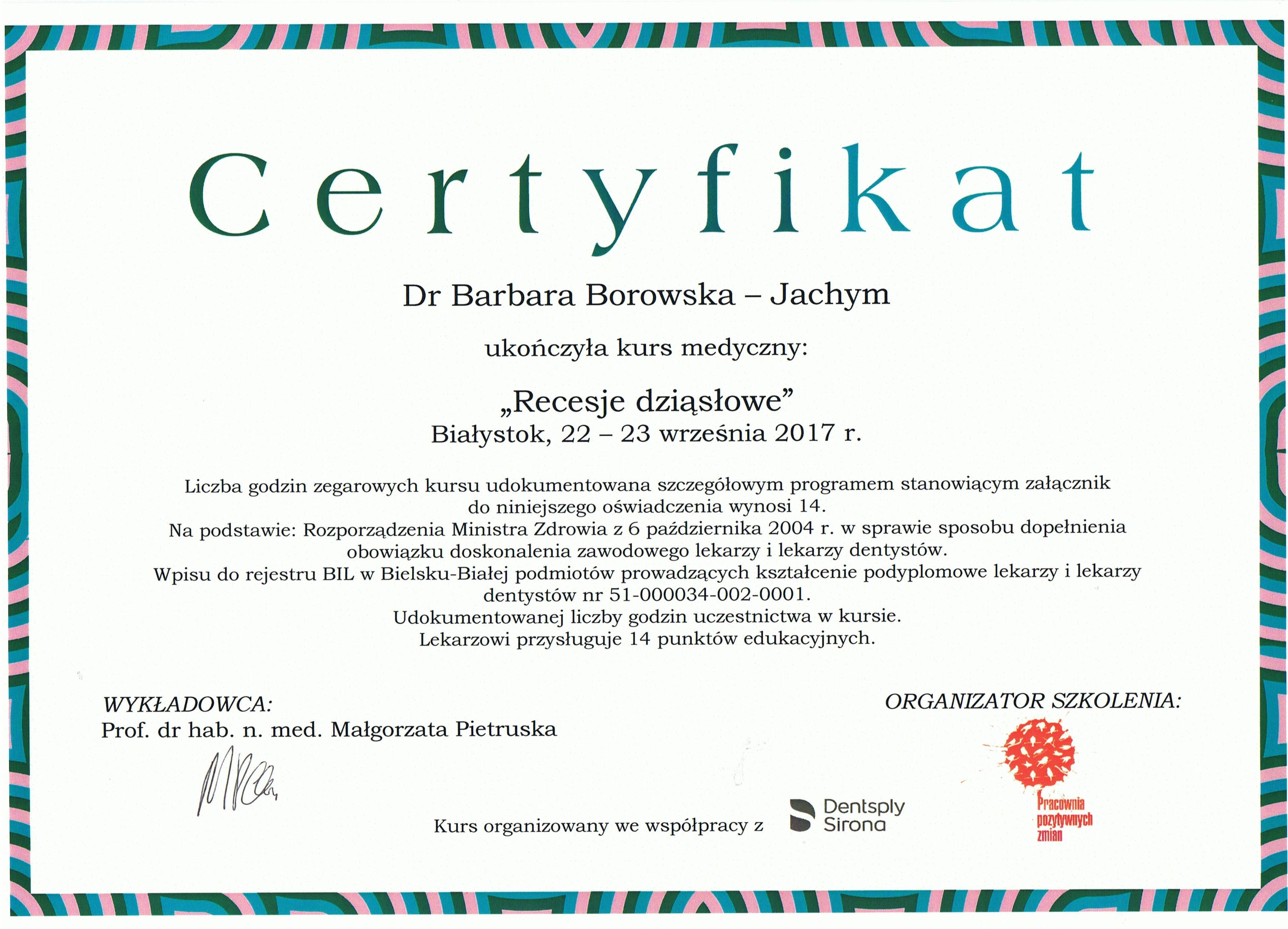 CCF20171009 00000 - Krakowski dentysta: lek. dent. Barbara Borowska-Jachym